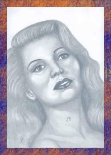 Rita Hayworth by jmauroux